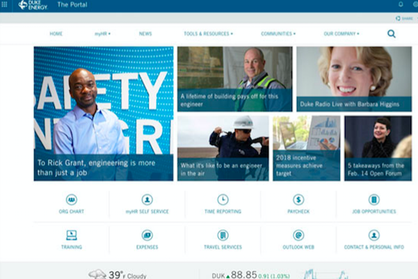 A Peak at the Very Best Intranets