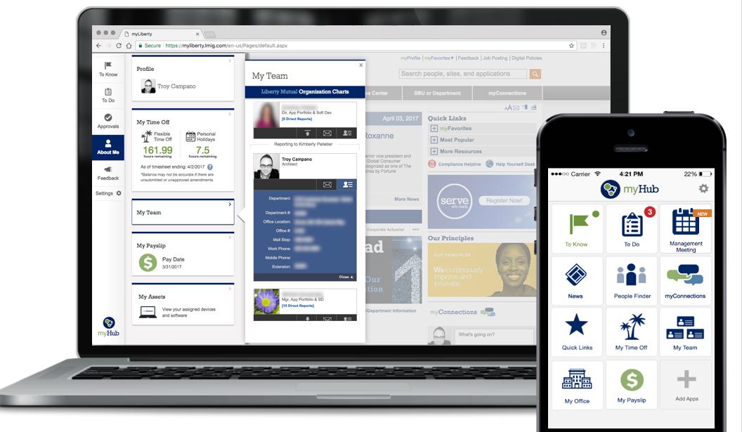 liberty mutual intranet digital assistant chatbot