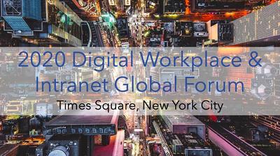 2020 Digital Workplace & Intranet Global Forum