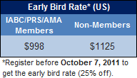 IGF 2011 Early bird rate