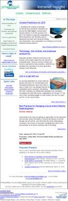 Intranet Insight Volume 5 Issue 7