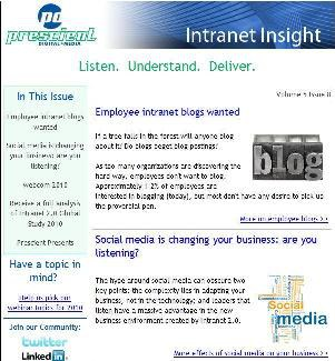 Intranet Insight Sample