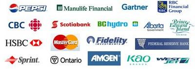 Prescient clients (partial list)