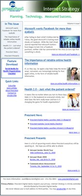 Internet Strategy sample issue