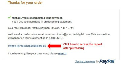 Paypal instructions