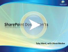 SharePoint 2010 Dos and Donts thumbnail